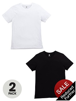 v-by-very-2-pack-split-hem-t-shirts