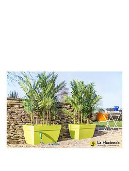 la-hacienda-set-of-2-80cmnbspartevasinbspcapri-xl-pot-greennbspbr-br