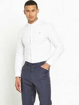 farah-farah-vintage-brewer-slim-long-sleeved-oxford-shirt
