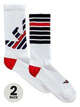 Emporio Armani 2pk sport sock