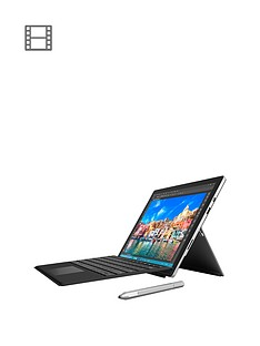 microsoft-surface-pro-4-intelreg-coretrade-i5-processor-4gb-ram-128gb-storage-wi-fi-123-inch-tablet-with-black-type-cover-and-optional-microsoft-office-365-personal