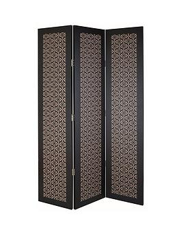 arthouse-san-remo-amber-black-single-sided-room-divider-screen