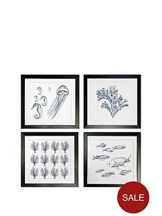 arthouse-ocean-life-set-of-4-framed-prints