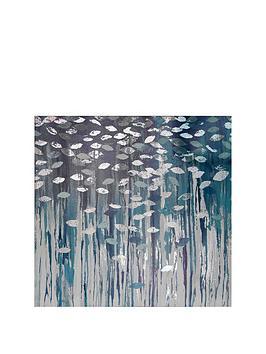 arthouse-birch-trees-metallic-printed-canvas-in-blue