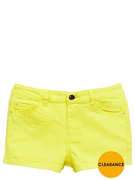 v-by-very-girls-bright-twill-shorts
