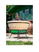 Medium Scrolled Magnesia Firepit