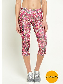 adidas-floral-print-three-quarter-running-tight