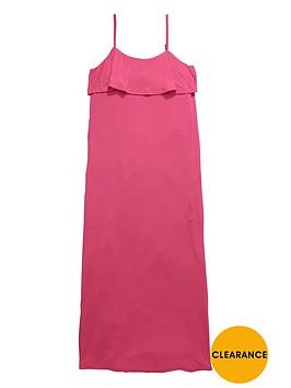 v-by-very-girls-strapless-frill-maxi-dress