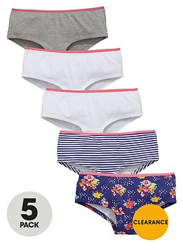v-by-very-girls-floralstripe-hipster-briefs-5-pack