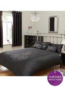 crystal-damask-duvet-cover-set-black