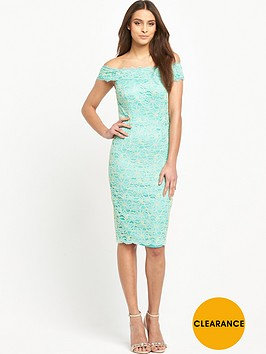 v-by-very-corded-lace-bardot-midi-dress