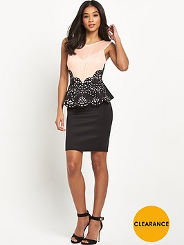 lipsy-laser-detail-peplum-dress