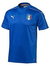 Puma Italy Junior Home Euro Short Sleeve Shirt