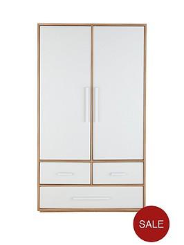 atlanta-2-door-3-drawer-kids-wardrobe
