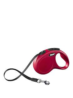 rosewood-classic-retractable-lead-medium-5m-red