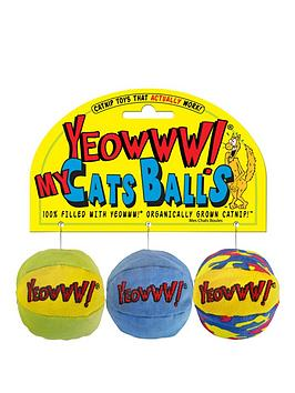 rosewood-my-cat-balls-organic-catnip-toy-3-pack