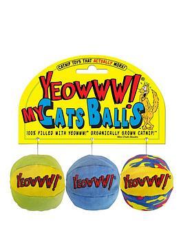 rosewood-my-cat-balls-organic-catnip-toy-3-pack