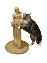 Natural Basil Cat Scratching Post Trio
