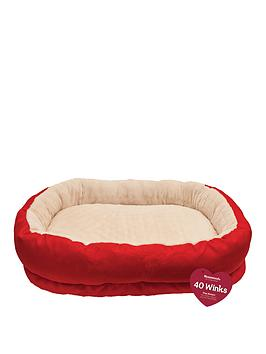 rosewood-red-amp-cream-orthopaedic-bed