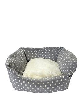 rosewood-grey-amp-cream-spot-small-sleeper-bed-16inch