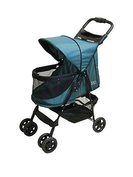 rosewood-no-zip-pet-stroller-emerald