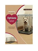Two Door Dog & Puppy Home - Medium 76 x 52 x 58cm