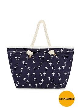 v-by-very-anchor-print-beach-bag