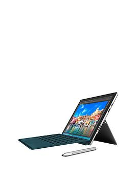 microsoft-surface-pro-4-intelreg-coretrade-i5-processor-8gb-ram-256gb-solid-state-drive-wi-fi-123-inch-tablet-with-teal-type-cover-and-optional-microsoft-office-365-personal