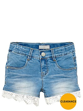 name-it-girls-lace-trim-denim-shorts