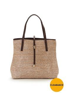 v-by-very-metallic-raffia-bag