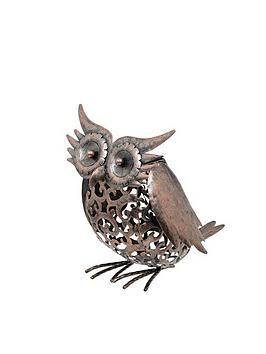 smart-garden-metal-scroll-owl-light