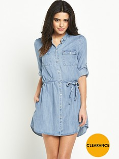 hilfiger-denim-shirt-dress-drapey-indigo-light