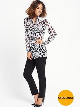 myleene-klass-heart-print-blouse