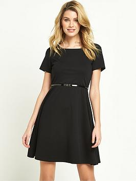 v-by-very-ponte-fit-and-flare-dress-tall