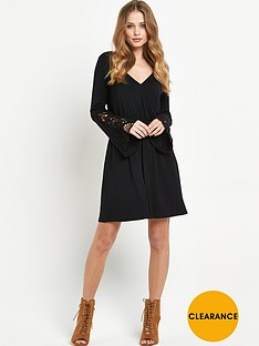v-by-very-crochet-sleeve-wrap-front-dress