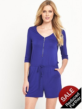 v-by-very-zip-front-jersey-playsuit