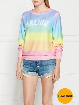 wildfox-malibunbspsunscreen-striped-sweatshirt