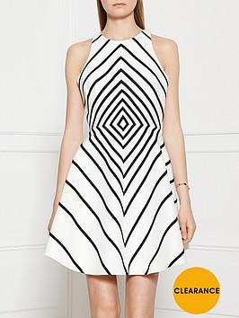 halston-heritage-structured-stripe-tank-dress