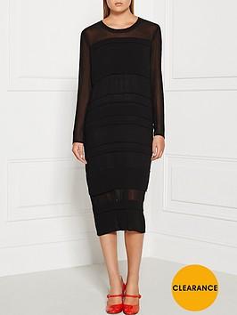 sonia-by-sonia-rykiel-georgette-tiered-midi-dress