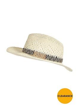 river-island-mono-metal-trim-straw-hat