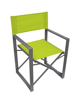 yellowstone-lime-folding-directors-chair