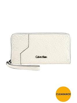 calvin-klein-sadie-cracked-leather-large-zipnbsppurse-white