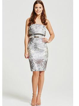 little-mistress-chloe-lewis-collection-bandeau-midi-pencil-dress