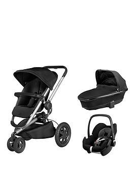 quinny-buzz-foldable-carrycot-pebble-car-seat-bundle-black