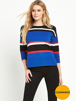 v-by-very-colour-block-lightweight-knitted-jumper