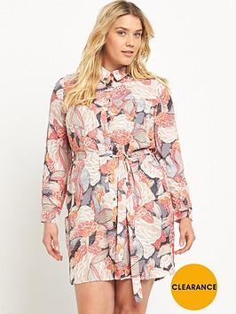 lovedrobe-curve-printed-shirt-dress-sizes-14-26