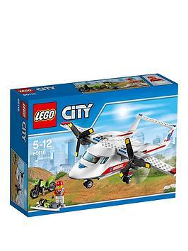 lego-city-ambulance-plane-60116
