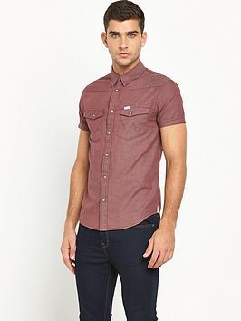 wrangler-short-sleeved-western-shirt