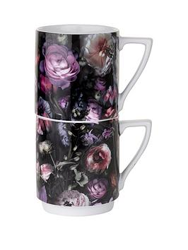 ted-baker-shadow-floral-stacking-mugs-set-of-2
