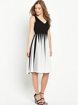 v-by-very-mesh-pleated-dress